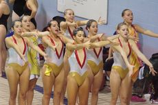 College Synchronized Swimming, John Abbott, McGill Invitational Meet