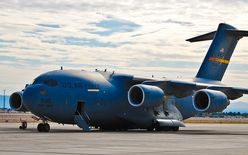 "452d Air Mobility Wing (452 AMW) C17 Globemaster III 55145 ""Spirit of"