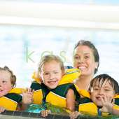 Swimming Lessons Kids At A Swimming Pool We Do Advertising And Aerial