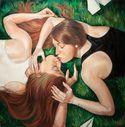 Kiss  Twins  by Yulia Katkova