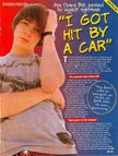 Drake Bell Car Accident: �I got hit by a car� | Fear of Bliss