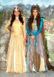 Karishma Tanna and Shama Sikander at a press meet for SAB TV magical