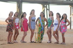 Miss Junior Flagler County Pageant Contestants, Ages 1215. Center
