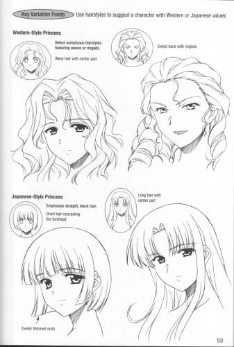 20 Character Draw Draw Female Manga Manga Volume