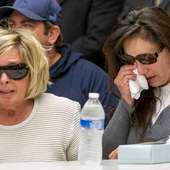 McStay, Mother Of Joseph McStay, Left, And Friend Of Victims' Family