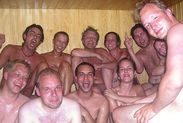 Part 3: Naked in mixed company German sauna reborn … erections and