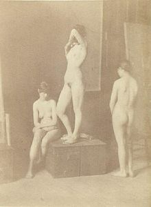 Nude Girls: Untitled ca 1880