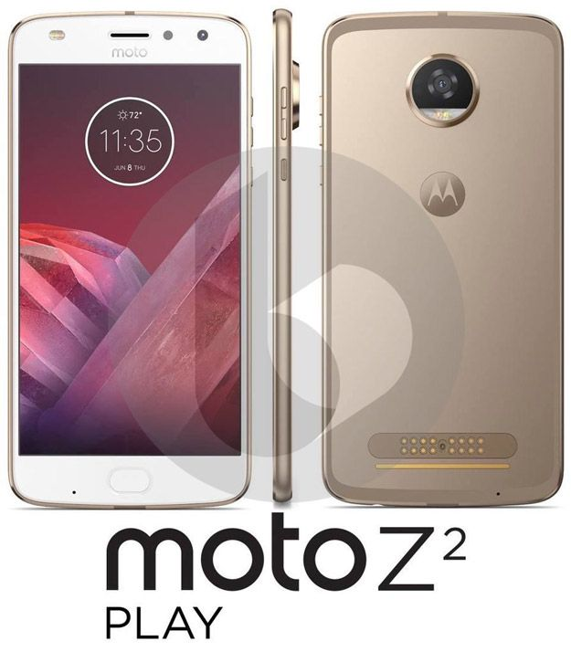 Moto Z2 Play Leaks With Moto Mods Support And Dual LED Selfie Flash - Hot Hardware