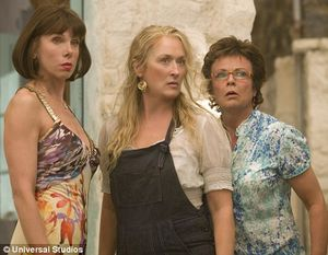 Baranski, Meryl Streep and Julie Walters, features 44 bloopers