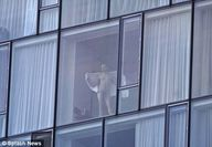Exhibitionists use New York hotel's floortoceiling windows to frolic