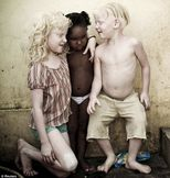 Meet the black Brazilian mother who have three albino children | Mail