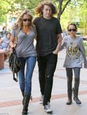 Miley Cyrus's siblings rally around mother Tish as Billy Ray files for