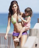 Family reunion: Teen Mom star Farrah Abraham took her daughter Sophia