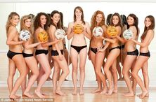 University netball girls score a hit with naked calendar | Mail Online