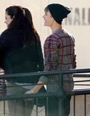 : Justin Bieber copped a quick feel of girlfriend Selena Gomez's butt