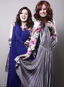 Prom queens: Laura Marano (left) and Debby Ryan (right) say the would