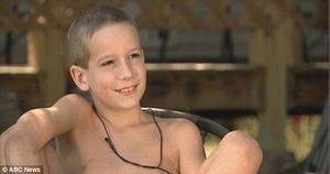 News Tech/Sci Sports Health: Meet the nine-year-old nudist who says he
