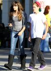 Paris Jackson, 14, steps out on cinema date with new boyfriend | Mail
