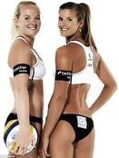 Olympic beach volleyballers women told they can cover up because of