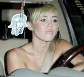 Taxi: Miley Cyrus shows she is devoted as she goes to pick her fiance