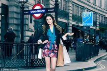 Seeing the sights: Laura told MailOnline that she has 'so much fun' on