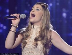You guys mean everything': Stunning Ella Henderson, 16, looks forward