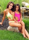 Mother daughter shoot: Melissa Gorga posses with her daughter Antonia