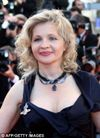 French actress and director Eva Ionesco poses on the red carpet at the