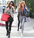 Young ladies who lunch: Famous teens Kylie Jenner and Bella Thorne