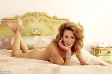 Celebrity Big Brother's Paula Hamilton poses nude on bed as she admits
