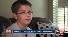 Middle school students left bleeding after teacher forced them to