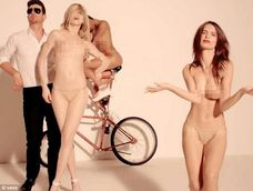 too hot for youtube robin thicke s blurred lines racy video featuring