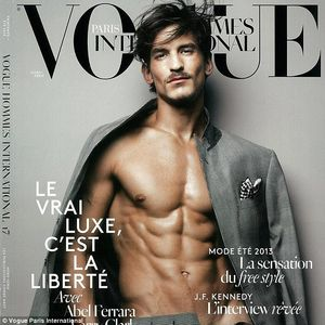 French magazine Vogue Homme International shoots editorial with Jarrod