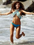 Making a splash: The former Teen Mom star, who has found herself at