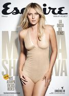 she posed in a plunging nude bodysuit on the cover of Esquire Mexico
