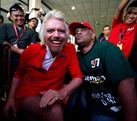 Sir Richard Branson dresses in drag after losing bet with AirAsia