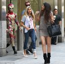 Jaden Smith wears Iron Man suit on Kylie Jenner date to Nobu | Mail