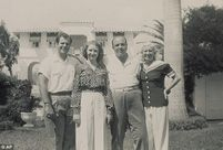 Family photos: Al Capone with wife, Mae, their daughter and soninlaw