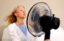 Cooling off: Women now have someone to blame for their hot flushes