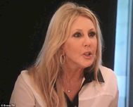 It hurts': Vicki Gunvalson asked questions on Monday night's episode