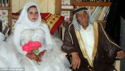 Newlyweds: Musali Mohammed alMujamaie said his wedding to 22yearold