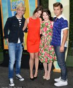 Costars: Ross Lynch, Maia Mitchell, Grace Phipps and Garrett Clayton
