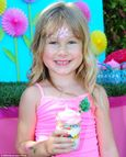 Tori Spelling's daughter Stella celebrates her fifth birthday at a