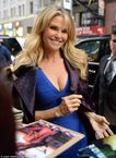 Christie Brinkley on posing 'practically naked' for Sports