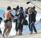 Heidi Klum gets behind the lens to direct a steamy wet and wild