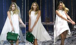 Cara Delevingne turns designer for Mulberry at London Fashion Week as
