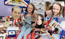 Kate Middleton and Prince William's eightyearold superfan | Mail