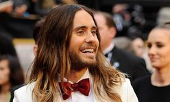 Jared Leto had unwashed hair at Oscars to 'make it look less done