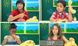 Kids react with confusion to a rotary phone in hilarious video | Mail