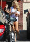 Charlotte McKinney shows off pert bottom and toned legs for DWTS